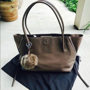Louise et Cie Elin Leather Tote NWT